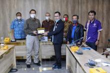 Terima Masukan Serikat Pekerja, Azis Syamsuddin Jamin Pembahasan RUU Cipta Kerja Transparan