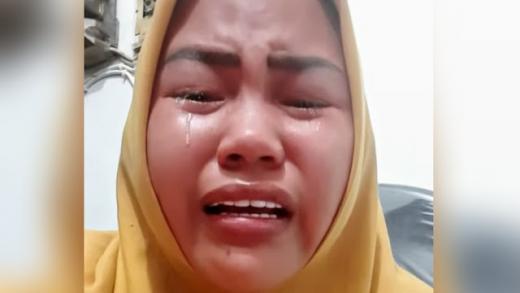 Viral Pedagang Nangis Dilarang Jualan Usai Tegur Istri Wakapolda