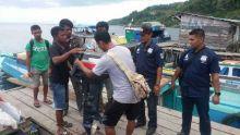 Polres Halsel Ciduk Tiga TSK Pencurian Mesin Laut di Bacan