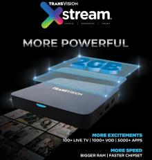 More Powerful, Transvision Luncurkan Xstream 2nd Gen