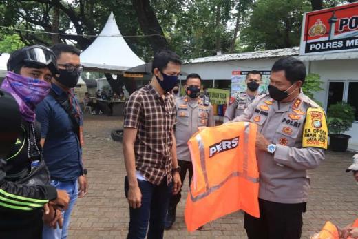 Pengamanan Demo Tolak Ciptaker, Polisi Siapkan Rompi untuk Wartawan