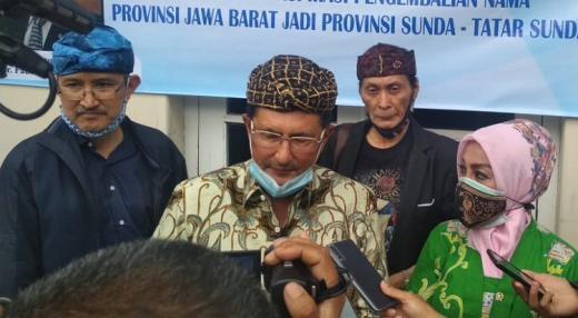 Wakil Ketua MPR Setuju Nama Jawa Barat Diganti Sunda