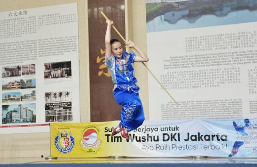 Wushu Rajawali Sakti Jakarta Pimpin Sementara Perolehan Medali