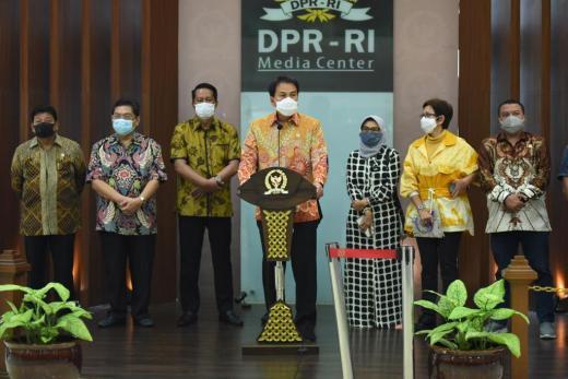 DPR Pastikan Tak Gunakan Ciptaker untuk Untungkan Pihak Tertentu
