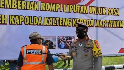Cegah Salah Tangkap saat Demo, Polda Kalteng Juga Sediakan Rompi Khusus Wartawan