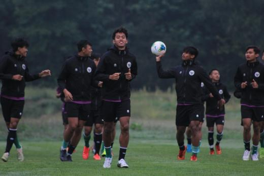Syukran Arabia Samual Senang Dipanggil Shin Tae-yong