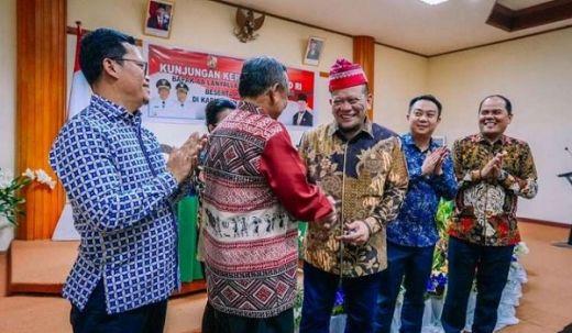 Kunjungi Toraja Utara, LaNyalla dan 4 Senator Bahas Pengembangan Pariwisata