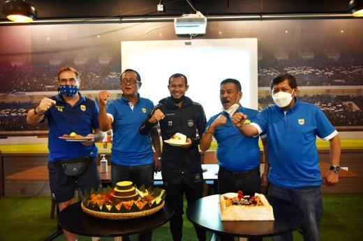 Hut ke-88, Persib Bandung Gelar Syukuran Tertutup