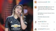 Ada Apa Nih? Akun Resmi Manchester United Kok Posting Foto Via Vallen