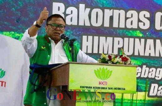 Prabowo Bangga Menginisiasi UU Desa saat di HKTI, OSO Bangga Rebut HKTI dari Prabowo