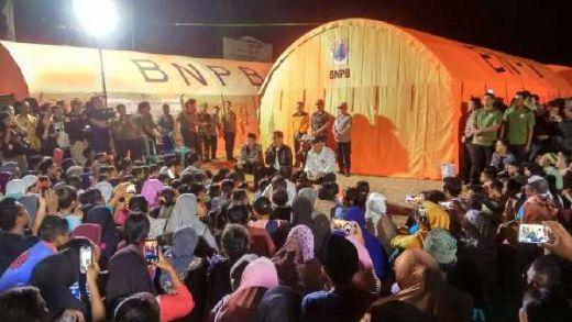 Untuk Kedua Kalinya, Jokowi Kunjungi Korban Gempa Lombok