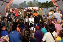 Presiden Pimpin Rapat Terbatas di Pengungsian, Ini 5 Poin yang Dihasilkan