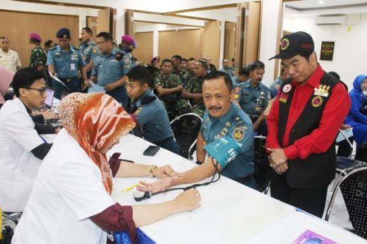 Donor Darah RSAL dr Ramelan Nyasar Kotama TNI AL