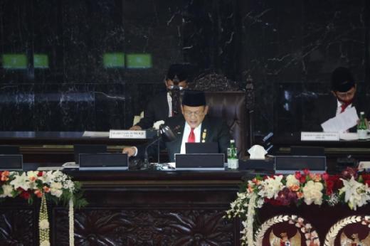 Buka Sidang Tahunan, Ketua MPR Apresiasi Kehadiran Presiden RI