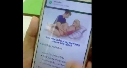 Orang Tua Murid Waspadalah! Ada Gambar Porno di Tugas Belajar Siswa