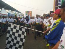 Bertepatan HUT Kabupaten Tebo, Gowes Nusantara Meriah