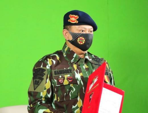 Ketua MPR Terima Anugerah Warga Kehormatan Utama Korps Brimob