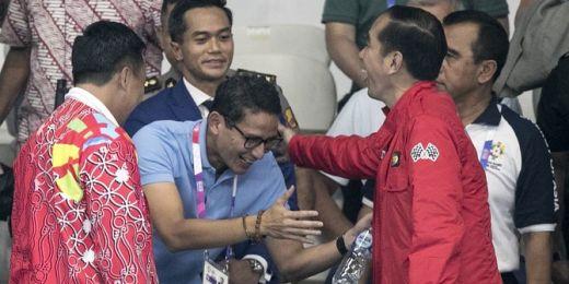 Di Depan Sandiaga Uno dan Erick Tohir, Jokowi Sebut Sosok Presiden 2024 dari Kader HIPMI