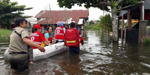 Ribuan Warga Mengungsi Akibat Banjir Besar Samarinda