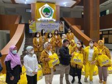 IIPG Salurkan Bantuan untuk Kawan Media