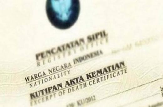 Mudahkan Keluarga Korban Insiden Sriwijaya Air, Dukcapil Langsung Terbitkan Belasan Akta Kematian