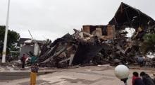 Gempa 6,2 SR Guncang Majene, Kantor Gubernur Sulbar Ambruk