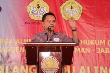 Maruf Cahyono Pimpin Silaturrahim Alumni FH Unsoed