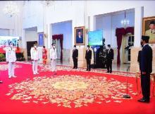 Istana Lantik Olly Dondokambey dan Steven OE Kandouw sebagai Gubernur dan Wakil Gubernur Sulut