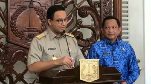 Sama-sama Tak Punya Partai, Peluang Duet Anies-Tito Karnavian di Pilpres 2024 Tipis