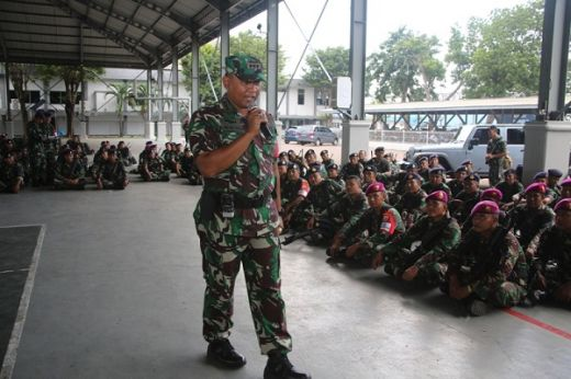 Sebanyak 2.500 Prajurit Koarmada II Siap Amankan Pemilu di Jatim