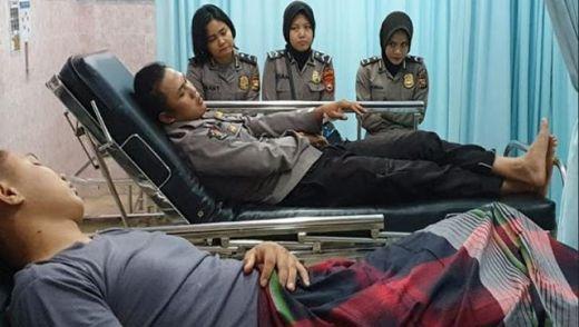 Amankan Musyawarah Kasus Pengeroyokan, Dua Polisi di Bengkulu Malah Dibacok Warga