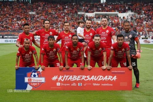 Persija Jakarta Akan Jalani Latihan Tertutup
