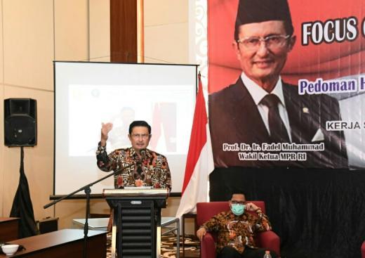 Terkait Haluan Negara, Pimpinan MPR Gali Pandangan Akademisi dan Birokrasi