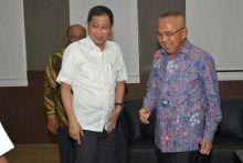 Jumpai Menteri ESDM, Gubernur Andi Rachman Curhat Soal Pemadaman dan Pasokan Listrik di Riau