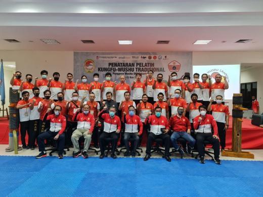 PB WI Buktikan Komitmen Bangun Prestasi Kungfu Tradisional