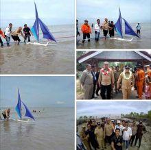 Pondopo Pantai Beting Beras Diresmikan Bupati, Fahmizal Usman: Pulau Ini Bisa Jadi Destinasi Unggulan