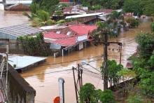 Hujan Deras, Kota Manado Direndam Banjir