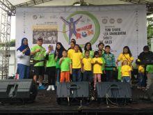 Peringatan Kesadaran Kanker Anak di Anyo Run 2017