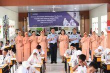 18 Siswa SMP Madani dan Ratusan Pelajar asal Riau, Berjuang Lolos Seleksi Daerah Casis SMA Pradita Dirgantara