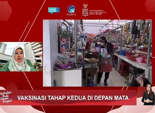 Pemerintah Mulai Vaksinasi Pedagang Pasar Tanah Abang Dimulai 17 Februari