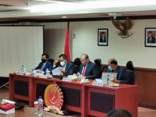 Apresiasi Sikap Komite I, Pimpinan DPD Evaluasi Proses Pilkada Desember