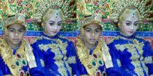 Sepasang Bocah 14 Tahun di Sulsel Sudah Menikah, Alasannya Bikin Miris, Ini Foto Pengantinnya