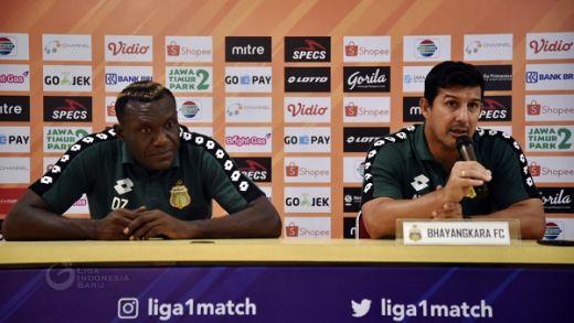 Bhayangkara FC Bertekad Curi Poin di Padang