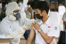 Pelajar Calon Penerima Vaksin, Didaftarkan oleh Sekolah