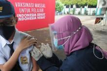 Belasan Sekolah di Tangsel siap Gelar Vaksinasi Pelajar Usia 12 - 17 Tahun