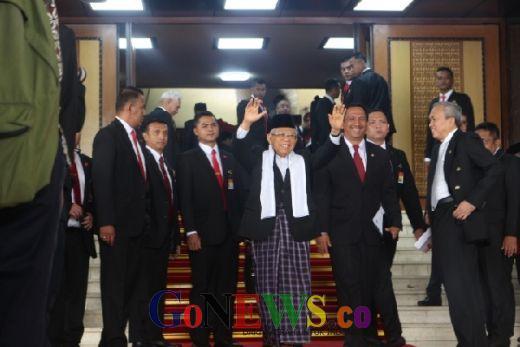 Beda Budi Gunawan dan Maruf Amin di Sidang Politik Senayan
