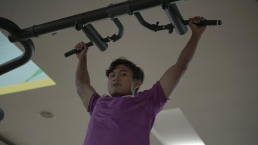 Akibat Hujan, Pemain Timnas U 19 Lakukan Recovery di Gym