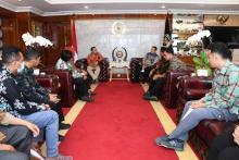 Terima Pengurus KWP, Bamsoet Ingatkan Pentingnya Uji Kompetensi Wartawan