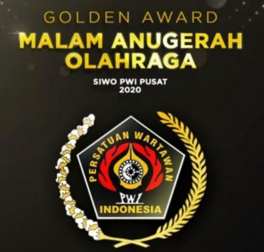 Siwo PWI Pusat Berikan 38 Penghargaan di Golden Award 2020