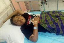 Butuh Bantuan, Imam Fahreza, Santri Sekaligus Hafiz Cilik Terbaring Lemas Akibat Infeksi Ginjal di Pekanbaru